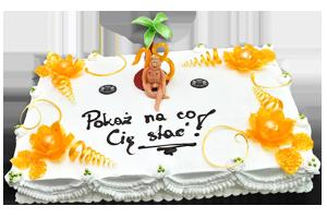 tort dla dorosłych